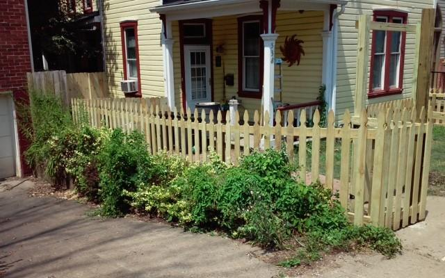 4' Treated Semi Privacy Fence Installation Pittsburgh, PA