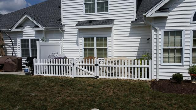 White Picket Fence Installation in Sewickley, PA