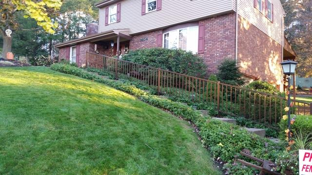 Tuscany Aluminum Railing Installation in Allison Park, Pa