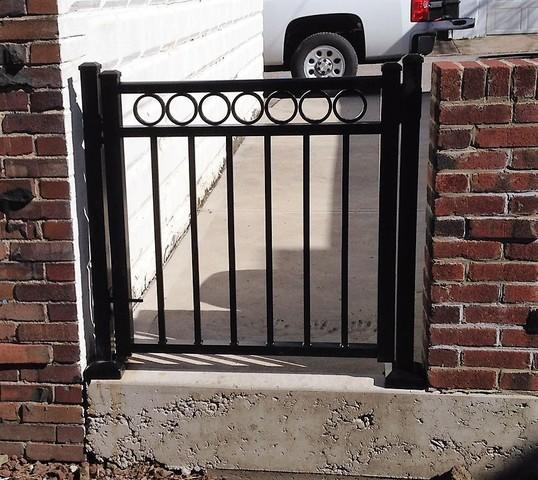 Black Riviera Gate Install in Aspinwall, PA