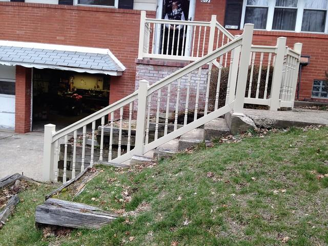 Potenza Vinyl Railing Installation in West Mifflin, Pa - After Photo