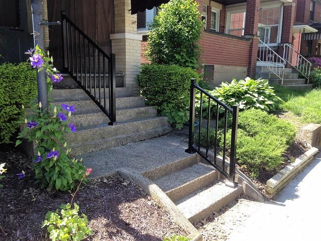 Aluminum Railing Installation in Tarentum, PA - After Photo