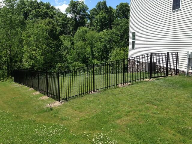 Aluminum Fence Installation in McDonald, PA