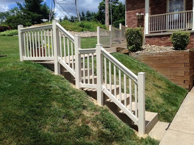 Potenza Railing Installation in McKees Rocks, Pa