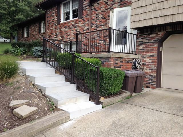 Chocolate Tuscany Railing Installation in Washington, PA