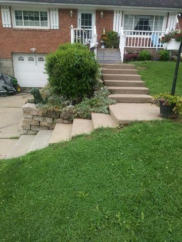Superior T Railing Installation in Ellwood City, PA - Before Photo