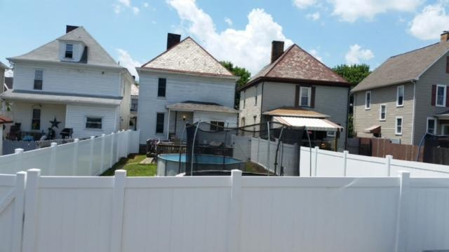 New White Vinyl Fence Replacement in Freedom, PA
