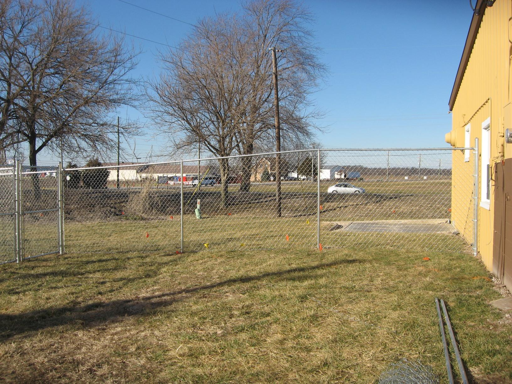 Chain Link Fence Installed in Collinsville, IL - After Photo