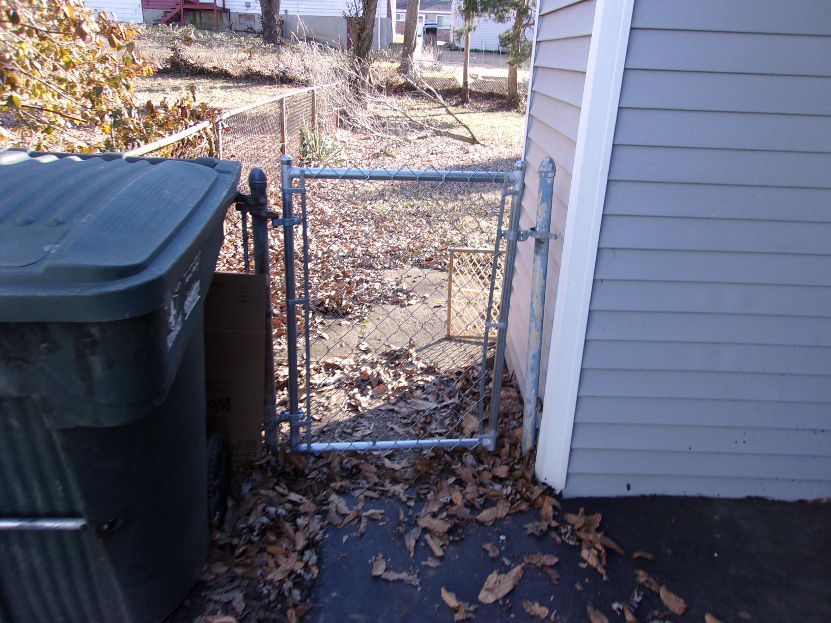 Chain Link Gate Replacement in Normandy, MO - After Photo