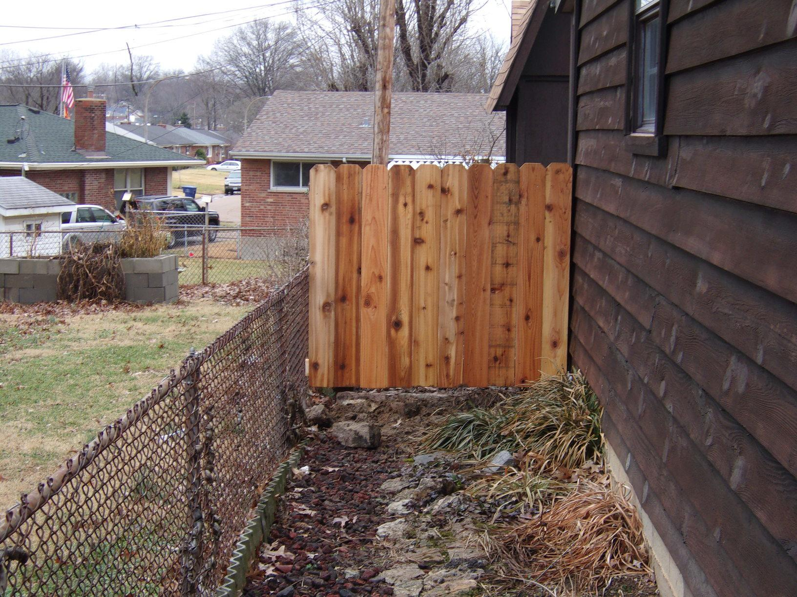 St Louis, MO Fence & Gate Replacement - After Photo