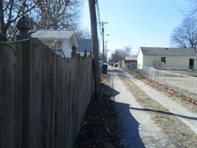 Wood Fence Installation in Granite City, IL - Before Photo