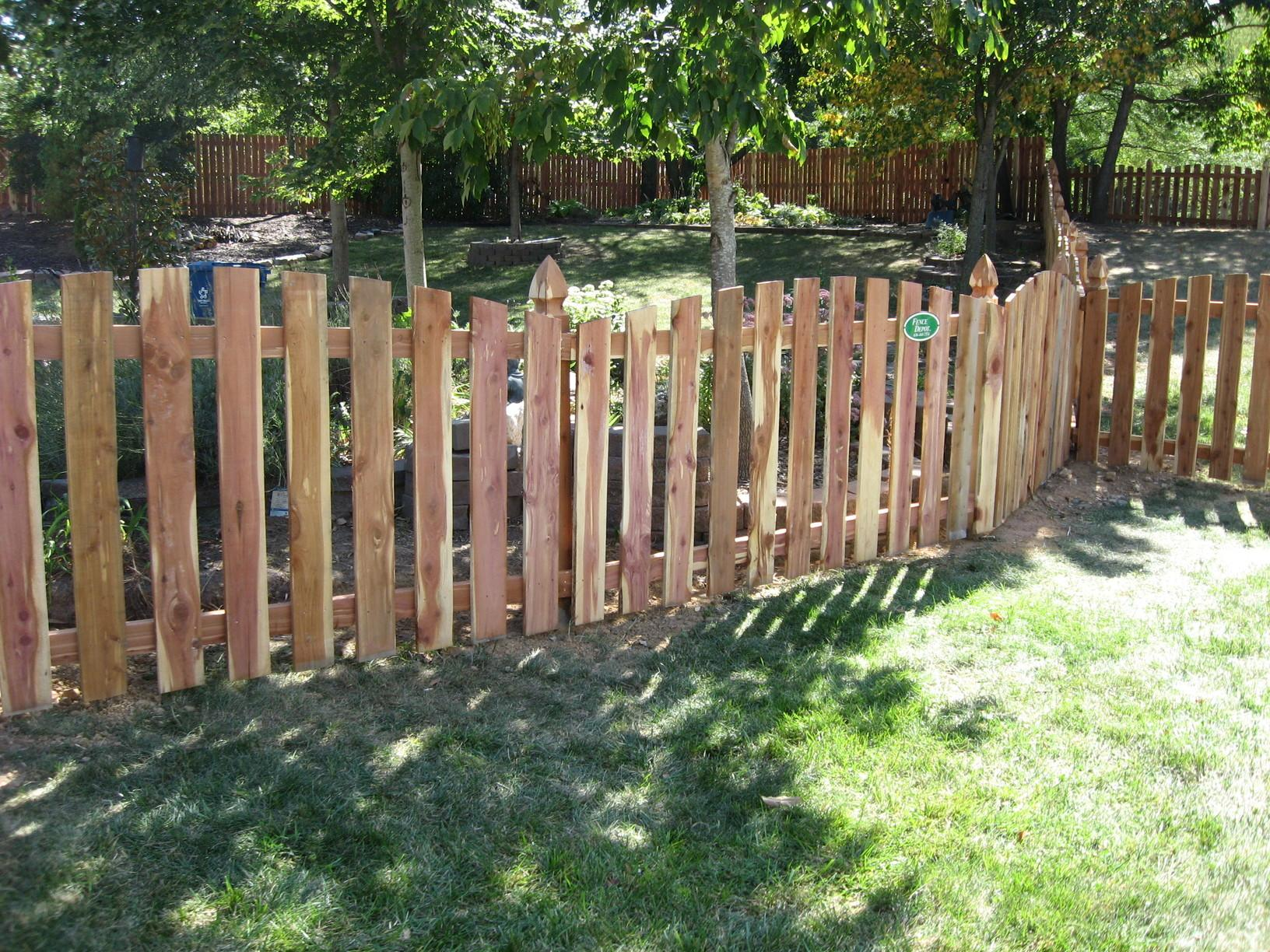 Godfrey, IL Wood Fence Replacement - After Photo
