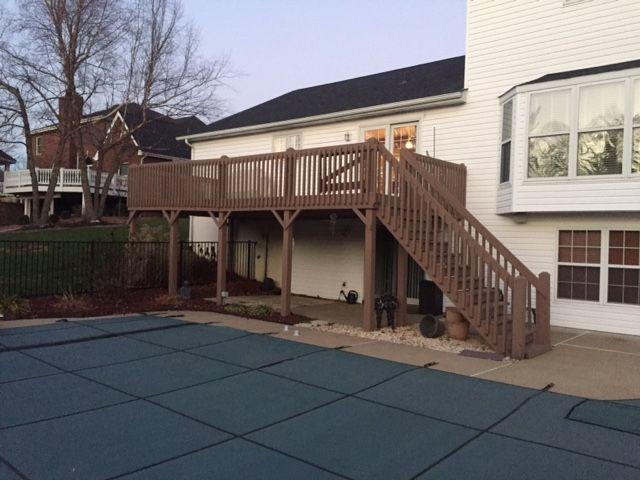 Deck Installation in Weldon Springs, MO - Before Photo