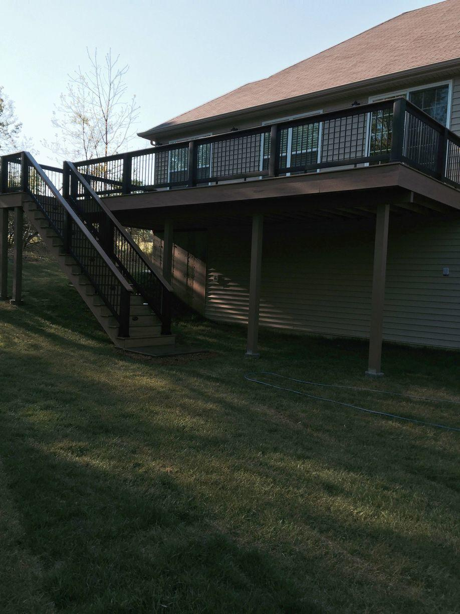St Charles, MO New Deck Installation - After Photo