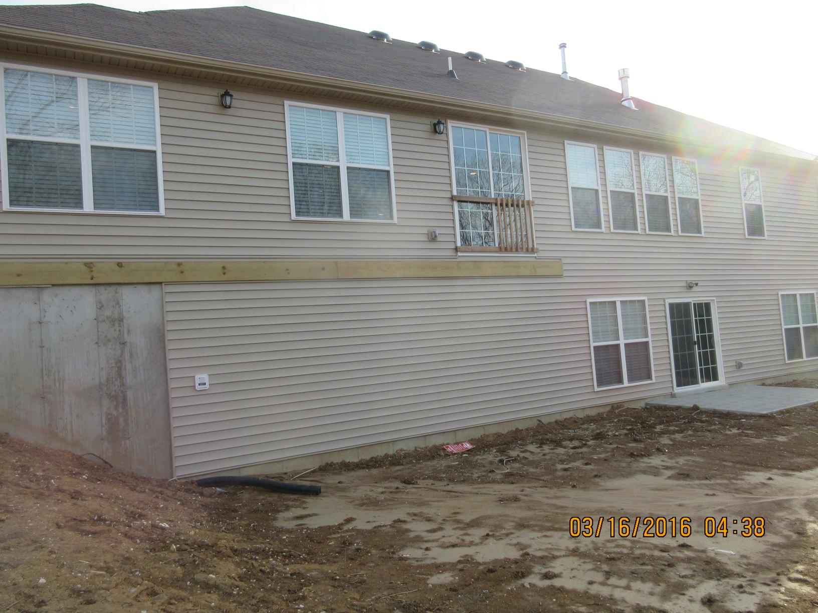 St Charles, MO New Deck Installation - Before Photo