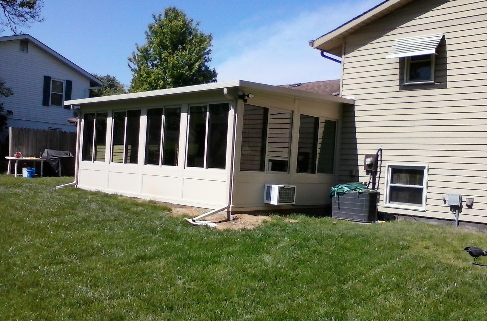 St Peters, MO Sunroom Constructed - After Photo