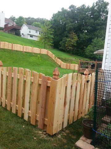 Cedar Fence Installed in Eureka, MO