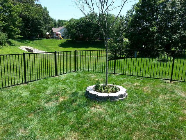 Metal Fence Installed in Dardenne Prairie, MO