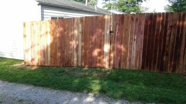 Cedar Privacy Fence Installed in Eureka, MO