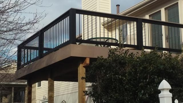 St Peters, MO Deck Installation - After Photo