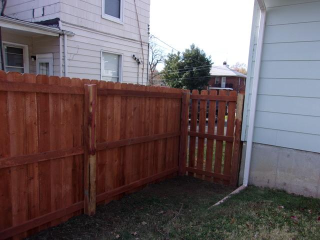 Wood Fence Installed in St John, MO