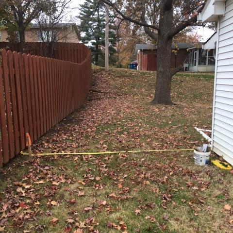 Cedar Shadow Box Fencing Installed in Olivette, MO