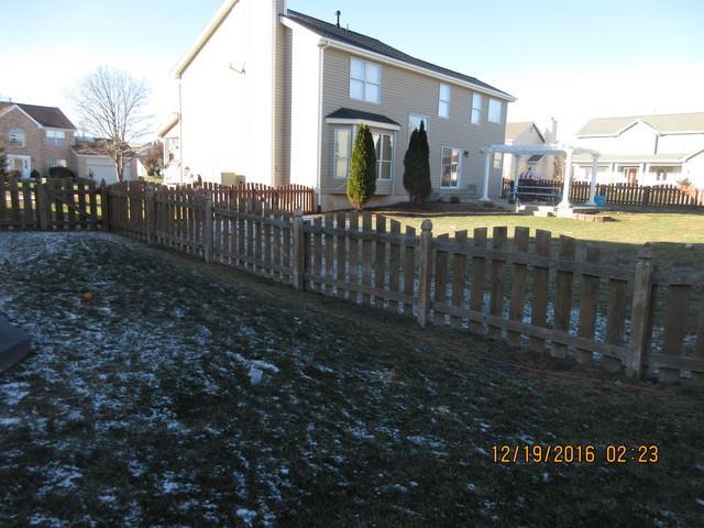O'Fallon, MO Wood Fence Installed