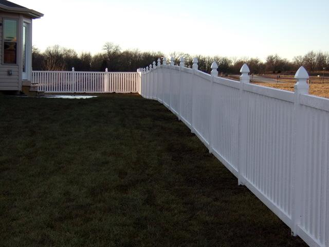 Elegant Boundary Fencing Installed in Wright City, MO - After Photo