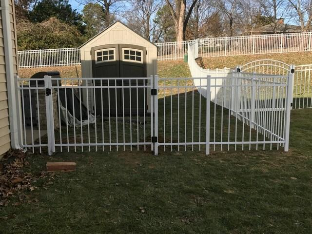 Aluminum Fence Installation in Bridgeton, MO