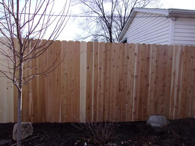 St Louis, MO Wood Fence Replacement