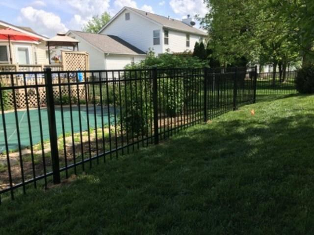 Aluminum Fence Installed in Grover, MO
