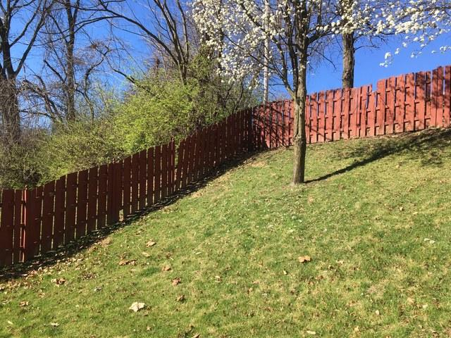Florissant, MO Capped Vinyl Fencing Installed