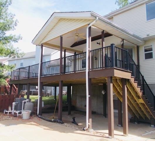 Timbertech Deck - Afton, MO - After Photo
