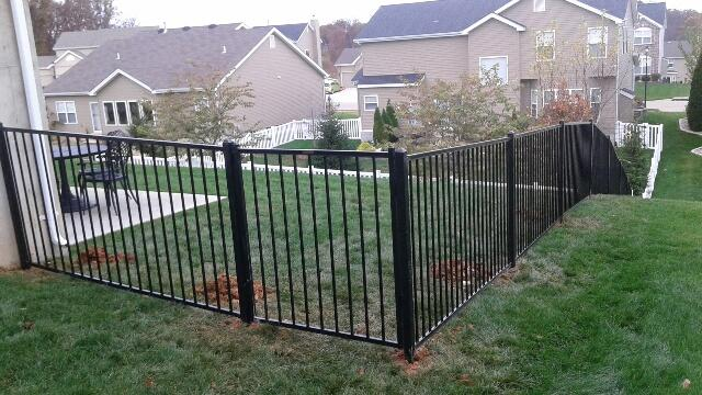 Aluminum Fence Installation in O'Fallon, MO