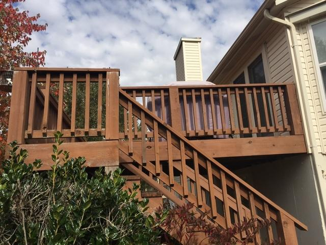 St Peters, MO Deck Installation - Before Photo