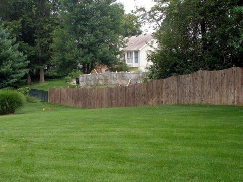 St Peters, MO Vinyl Flat Top Fence Installation