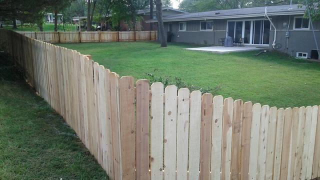 Cedar Fence Installation in Olivette, MO