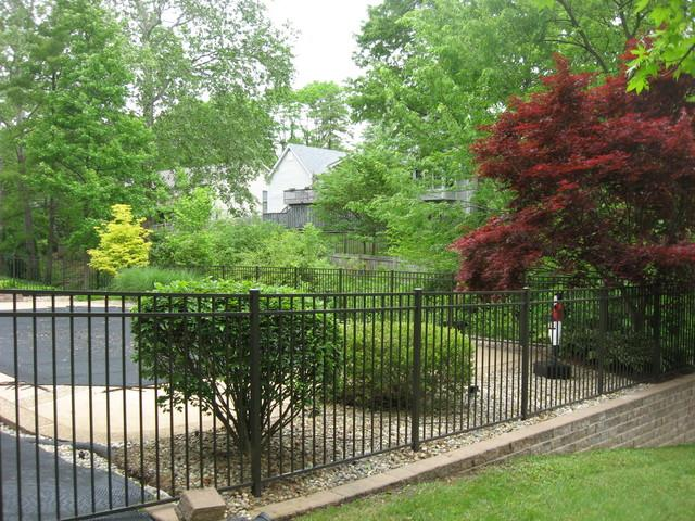 Ameristar Echelon Fence Installed in Des Peres, MO - After Photo