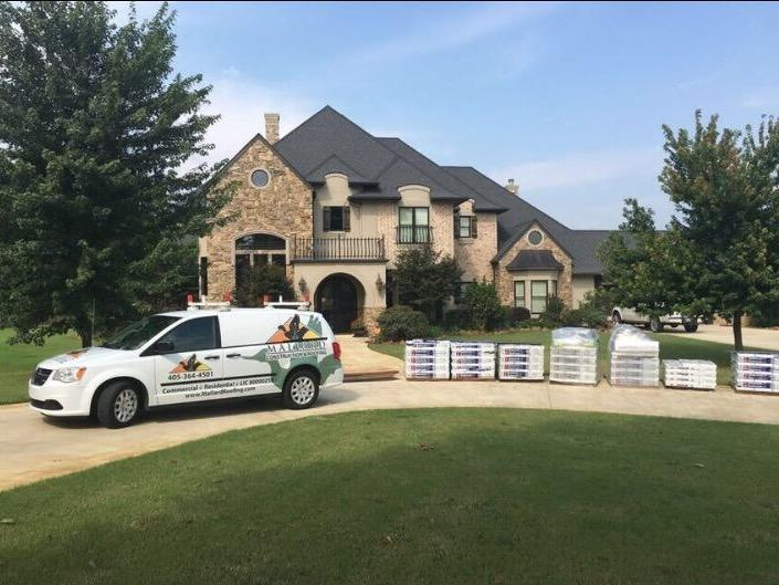 Durant, OK Roof Replacement - Before Photo