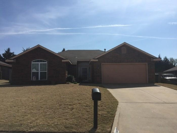 Shawnee, OK Roof Replacement - Before Photo