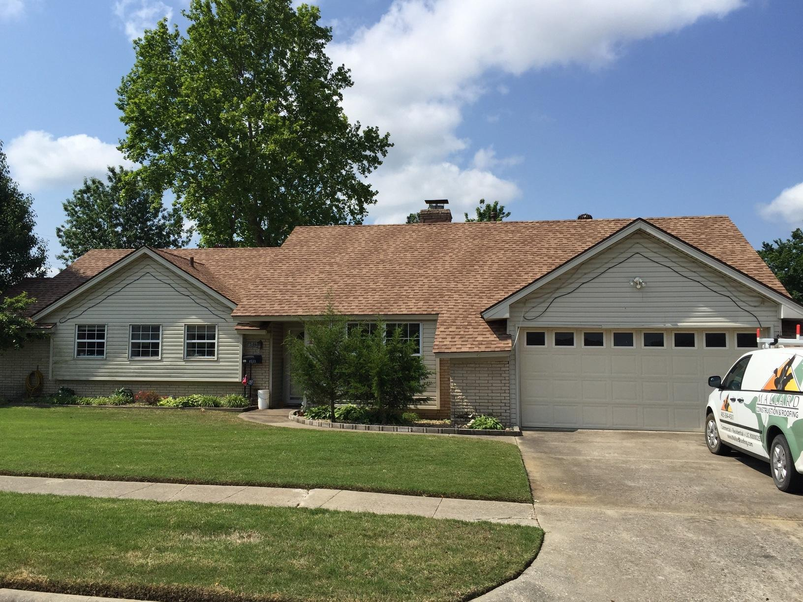 Roof Replacement in McAlester - After Photo