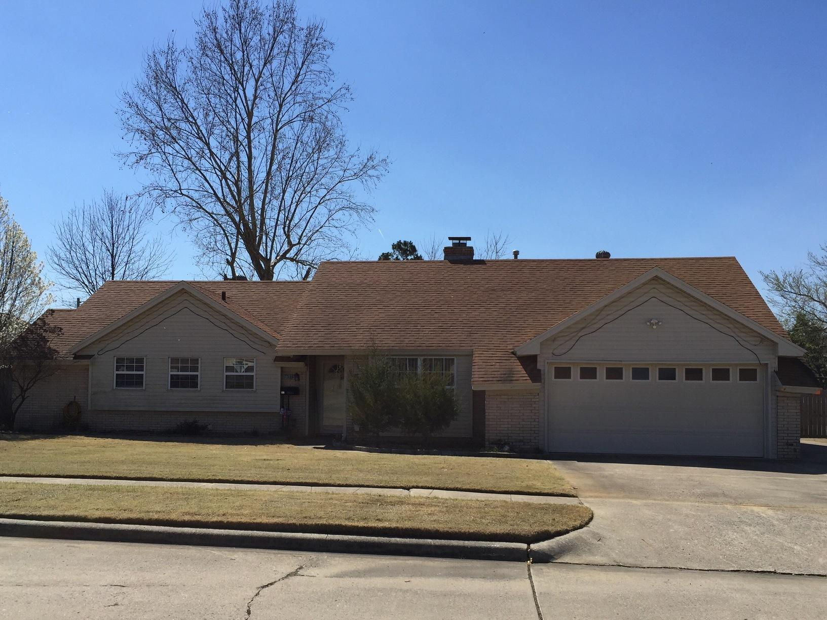 Roof Replacement in McAlester - Before Photo