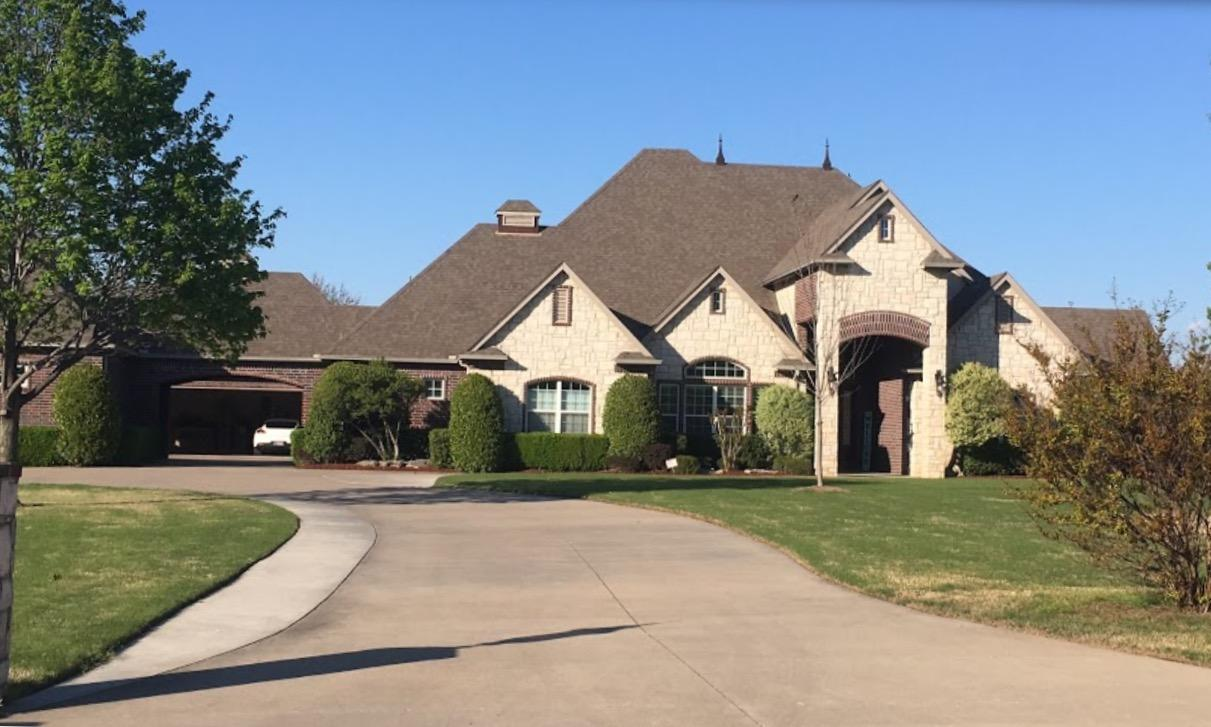 Broken Arrow, OK Roof Replacement - Before Photo