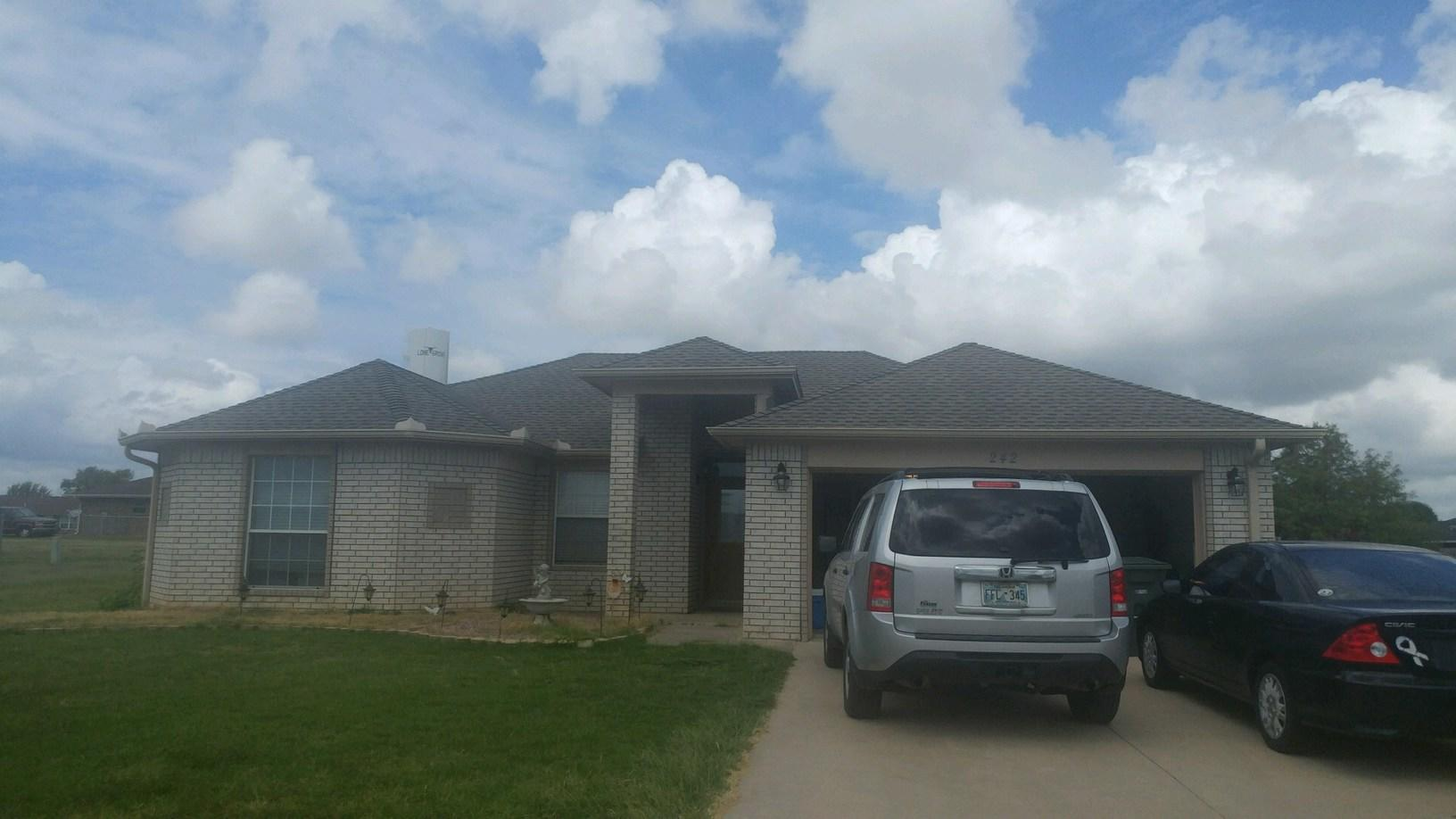 New Roof Installation in Lone Grove, Ok - After Photo