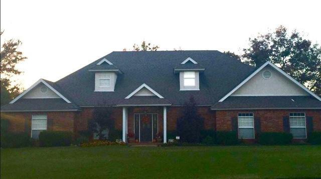 Roof Replacement in Ada, OK - Before Photo
