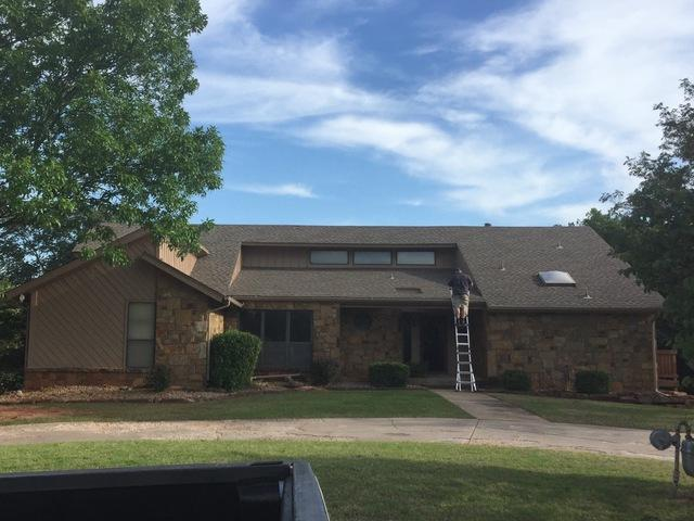 Roof Replacement in Edmond, Ok.