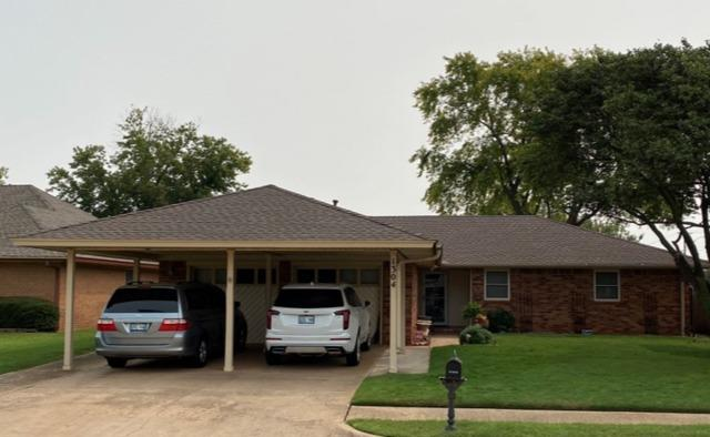 Moore,. OK - Roof updated and Gutters replaced