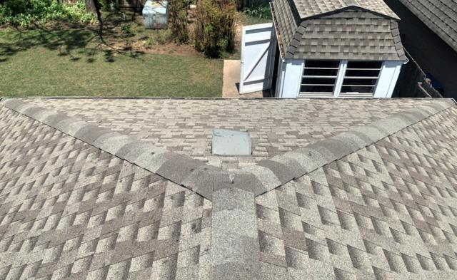 Norman, OK - Roof Replaced ridge vent added