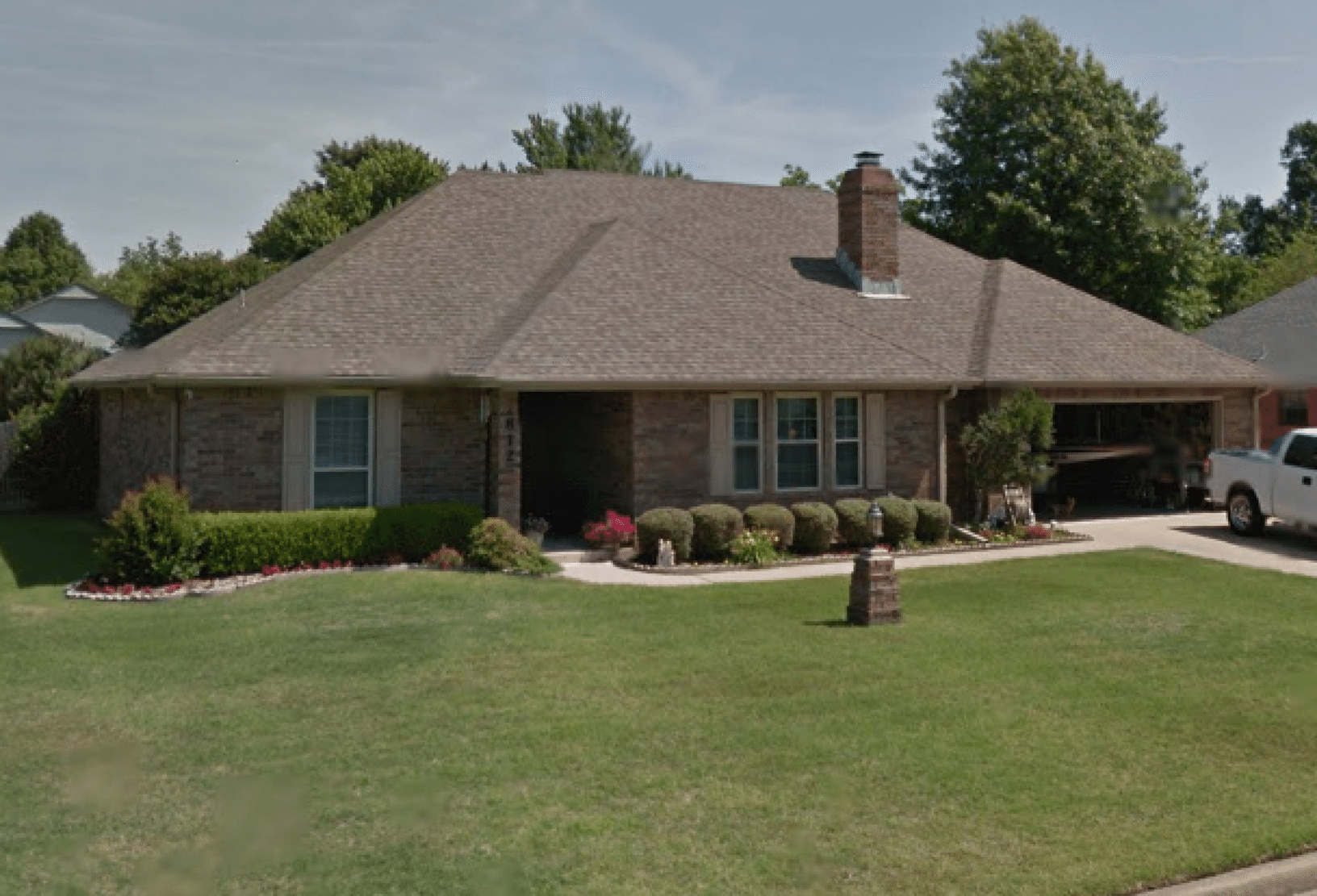 Muskoee, Ok Roof Replacement - Before Photo