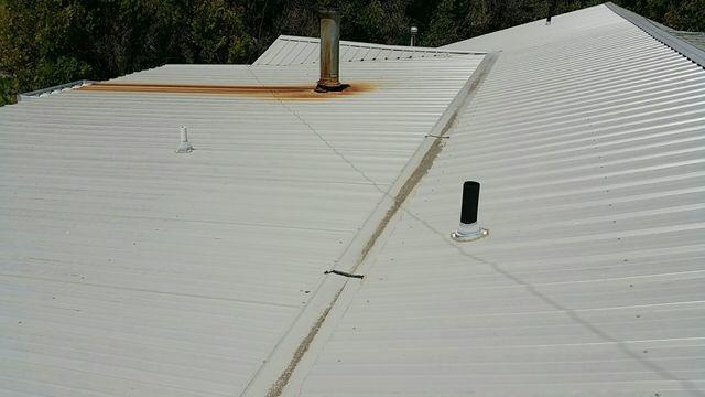 Two Face Roof Gets a Face Lift in Braman, OK